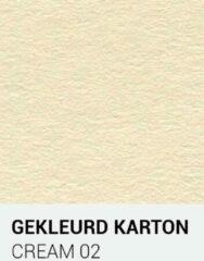 Creme witte Gekleurdkarton notrakkarton Gekleurd karton cream 02 A4 270 gr.