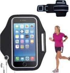 Zwarte E-Supply Sportband iPhone 6(S) plus / 7 plus (6+/7+) Hardloop Armband
