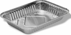 Royal ware by Farla Aluminium rechthoekige voedsel containers, 3500 ml - verpakking van 5 containers