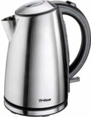 Roestvrijstalen Trisa Quick Boil Snoerloze Waterkoker 1.7L 2200W RVS/Zwart