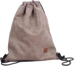 Trainingsrucksack Bachpack Gym Bag PU Vintage HTI-Living Taupe