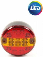 Rode Aanhangwagendirect Achterlicht LED rond 140 mm