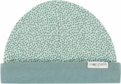 Grijze Noppies Kindermuts Babylon - Grey Mint - Maat PREMATURE