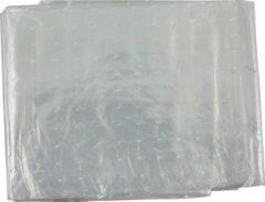 Transparante Vrijbuiter Outdoor Onder-Grondzeil Geperforeerd - grondzeil plastic wegwerp - wit