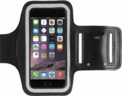 Zwarte DrPhone Sportband voor iPhone 6S, 7 & iPhone X Sport armband