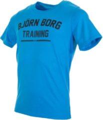 Blauwe Bjorn Borg - Sportshirt - Heren - Hawaiian Ocean - Maat S