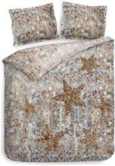 Gouden Heckettlane Heckett & Lane Lewis - Dekbedovertrek - Eenpersoons - 140x200/220 cm + 1 kussensloop 60x70 cm - Shimmer Gold