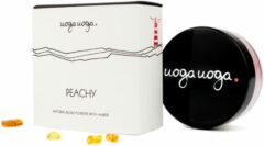 Uoga Uoga Blush Powder 643 Peachy Bio (4g)