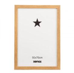 Xenos Fotolijst basic - 50x70 cm - bruin
