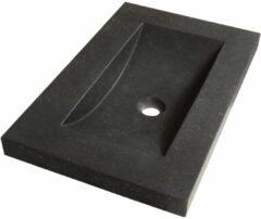 Sanituba Corestone SMALL wastafel basalt zonder kraangaten 60cm