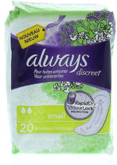 Always Discreet Incontinent light Pad small - 20 Stuks - Incontinentiepads