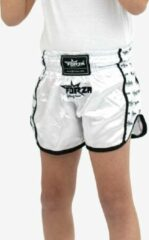 Forza Fighting Gear FORZA WITTE MINI FORZA JUNIOR MUAY THAI SHORTS