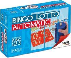 """Cayro Bingo Automatic - Bingospel met Compacte """"Bingomolen"""" - 90 Ballen"""