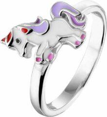 Paarse Yep! Ring Eenhoorn - Zilver