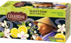 Celestial Seasonings Celestial Season Sleepytime Decaf groen Tea Lemon Jasmine (20st)