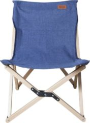 Blauwe Nigor - Stoel - Flycatcher - Denim - Medium - Campingstoel - incl Foedraal