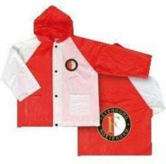 ProBadge Feyenoord Regenjack - Maat 104 - Rood / Wit