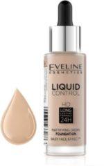 Eveline - Liquid Control HD Mattifying Drops Foundation matujący podkład do twarzy 030 Sand Beige 32ml