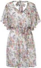 Rosa ODEON Kleid, aus zartem Chiffon, Feminin, Kunstfaser