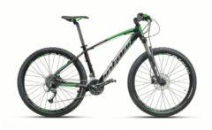 Montana Bike 27,5 ZOLL MONTANA URANO MOUNTAINBIKE ALUMINIUM 27 GANG MTB Hardtail Herren schwarz-grün