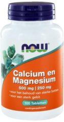 Now Foods Now Calcium Magnesium 500/250 Mg Trio (3x 100tab)