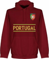 Retake Portugal Team Hoodie - Bordeaux Rood - M