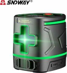 SNDWAY® BouwLaser Level 2 groen lijnen Kruislijnlaser - SW-331G