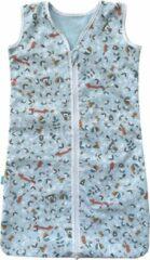 Lichtblauwe BINK Bedding Zomerslaapzak Sam 70 cm