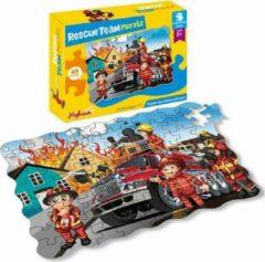 FDBW Kinderpuzzel Brandweer | LegPuzzel Kinderen 3 Jaar | Puzzel 45 stukjes | Puzzelen voor kinderen | Kinderpuzzels 3 jaar – Leerzame Puzzels