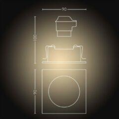 Philips Lighting Hue LED-inbouwlamp Milliskin GU10 5 W Warm-wit, Neutraal wit, Daglicht-wit