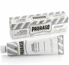 Proraso - White Shaving Soap In A Tube - Shave soap in a tube