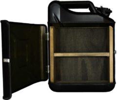 Designed By Man Jerrycan cabinet basic+ zwart