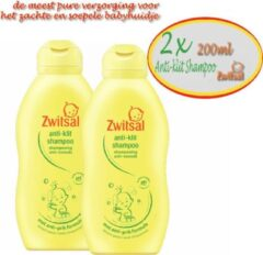 Zwitsal Anti klit shampoo- 200ml -2 stuks