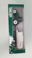 Groene ''merkloos'' Speelgoed tractor