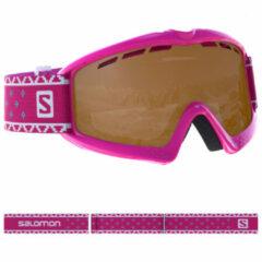 Salomon - Kid's Kiwi S2 VLT 27% - Skibrillen maat One Size, bruin/roze