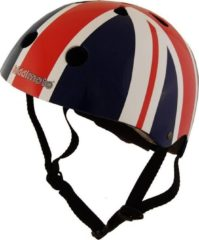 Rode Kiddimoto Union Jack Helmet Red/Multi M - Helmen kinderen & jongeren