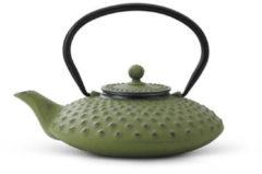 Groene Bredemeijer Jing Theepot - Gietijzer - 0.8 l - Groen
