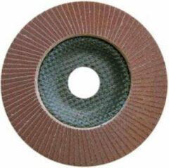 Bruine SSpecialist+ 10st x Lamellenschijf staal 125mm conische P100 ''Specialist+'' Bacis