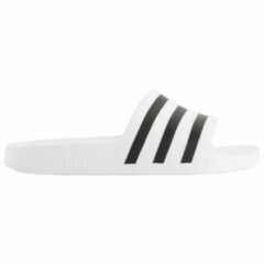 Witte Adidas Adilette Aqua Heren Slippers - Cloud White/Core Black/Cloud White - Maat 40.5