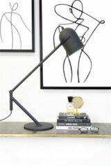 By-Boo Tafellamp 'Sleek' kleur Zwart