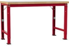 Manuflex Grundtisch Profi Spezial, Tiefe 700 mm, Breite und Tischplatte wählbar