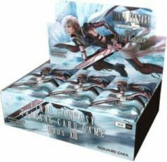 Square Enix Final Fantasy TCG Opus XIII Crystal Radiance Booster Display