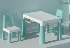 Russle Setje tafel met stoelen Mint Groen