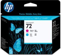 Cyane HP 72 - Inktcartridge / Magenta / Cyaan (C9383A)