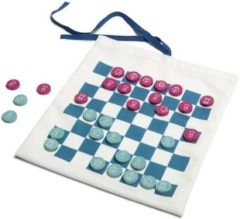 BS Toys Reisspel dammen & Tic Tac Toe Multicolor 24 x 22 cm