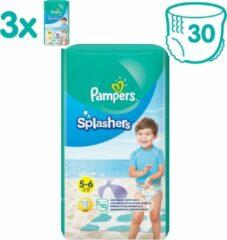 Pampers Splashers Wegwerpbare Zwemluiers - Maat 5-6 (14+ kg) - 30 stuks - Voordeelverpakking