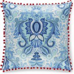 A Spark of HAPPINESS Gevuld kussen 1-48x48 polyester Happiness nr.8054 blauw Maat: 48x48cm