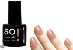 Roze So! Soak Off - Gel nagellak - Rosy Cheeks - 8ml