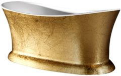 ADW Design Vrijstaand bad Best Design Color Bridgegold Acryl 175x79x70cm Goud