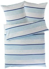 Bettwäsche Kordelia miaVILLA weiß/blau